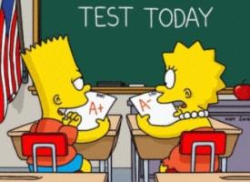 Барт против Лизы и против третьего класса
