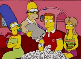 Мардж и Гомер спасают чужой брак